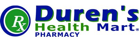 Duren Health Mart Pharmacy Logo